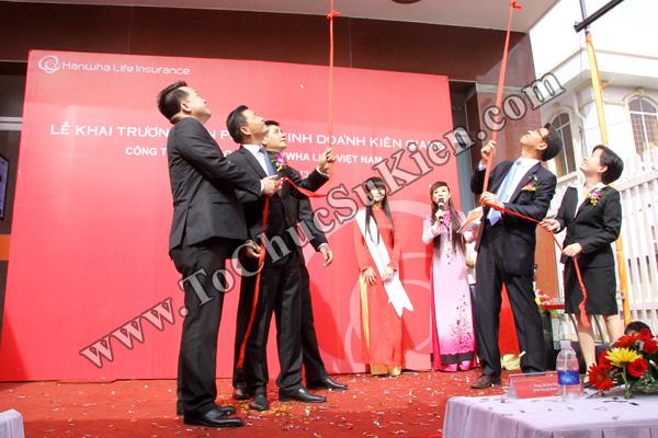 Tổ chức sự kiện Lễ khai trương Văn phòng Kinh doanh Kiên Giang - Cty Bảo hiểm Hanwha Life Việt Nam - 20