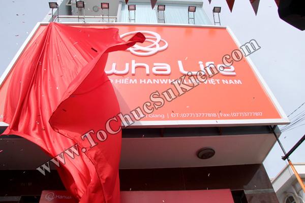 Tổ chức sự kiện Lễ khai trương Văn phòng Kinh doanh Kiên Giang - Cty Bảo hiểm Hanwha Life Việt Nam - 21