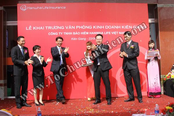 Tổ chức sự kiện Lễ khai trương Văn phòng Kinh doanh Kiên Giang - Cty Bảo hiểm Hanwha Life Việt Nam - 22