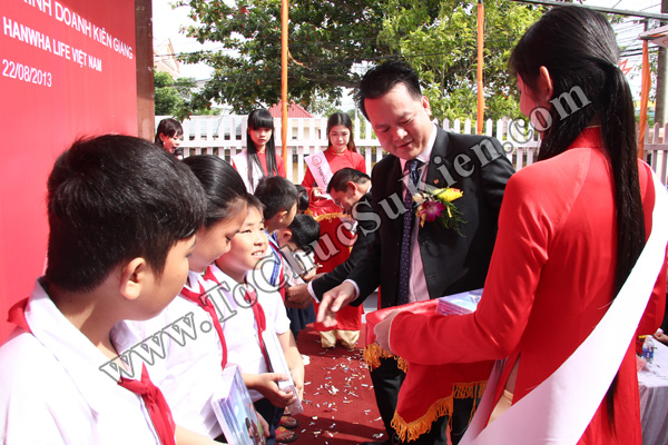 Tổ chức sự kiện Lễ khai trương Văn phòng Kinh doanh Kiên Giang - Cty Bảo hiểm Hanwha Life Việt Nam - 25