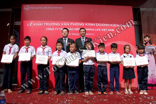 Tổ chức sự kiện Lễ khai trương Văn phòng Kinh doanh Kiên Giang - Cty Bảo hiểm Hanwha Life Việt Nam - 26