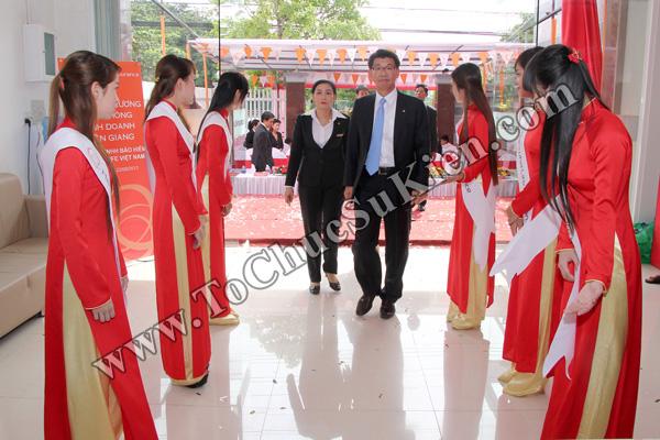 Tổ chức sự kiện Lễ khai trương Văn phòng Kinh doanh Kiên Giang - Cty Bảo hiểm Hanwha Life Việt Nam - 28