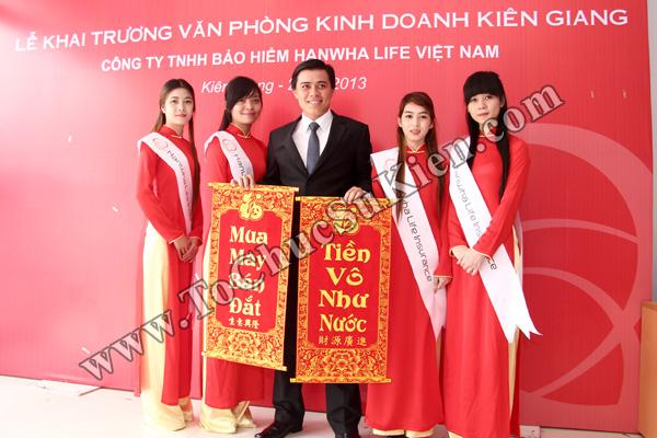 Tổ chức sự kiện Lễ khai trương Văn phòng Kinh doanh Kiên Giang - Cty Bảo hiểm Hanwha Life Việt Nam - 30