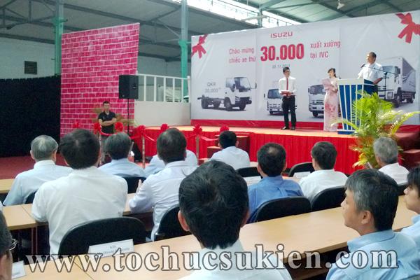 Tổ chức sự kiện Lễ chào mừng chiếc xe thứ 30.000 xuất xưởng tại IVC - Công ty ISUZU Việt Nam - 04