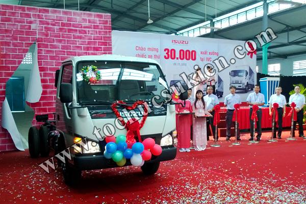 Tổ chức sự kiện Lễ chào mừng chiếc xe thứ 30.000 xuất xưởng tại IVC - Công ty ISUZU Việt Nam - 07