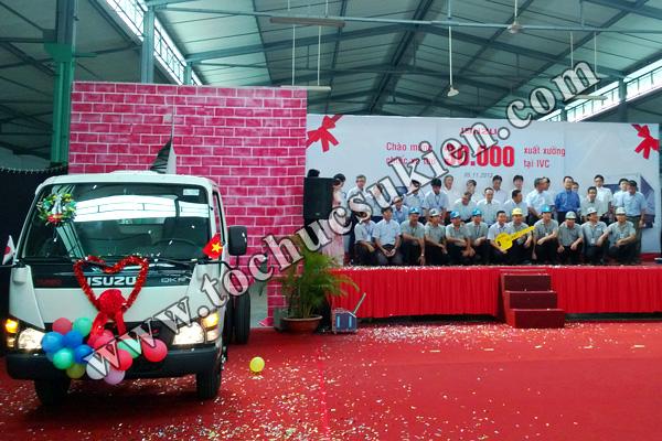 Tổ chức sự kiện Lễ chào mừng chiếc xe thứ 30.000 xuất xưởng tại IVC - Công ty ISUZU Việt Nam - 08
