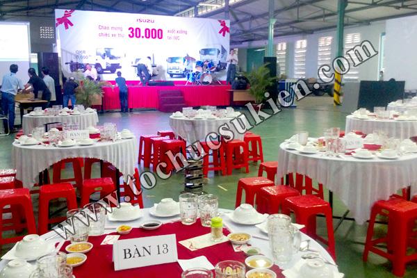 Tổ chức sự kiện Lễ chào mừng chiếc xe thứ 30.000 xuất xưởng tại IVC - Công ty ISUZU Việt Nam - 09