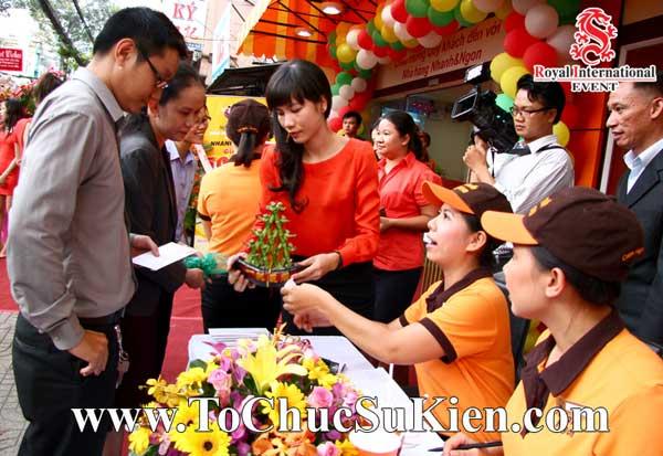 Tổ chức sự kiện khai trương nhà hàng Nhanh & Ngon - 03