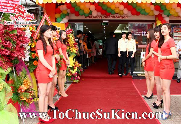 Tổ chức sự kiện khai trương nhà hàng Nhanh & Ngon - 09