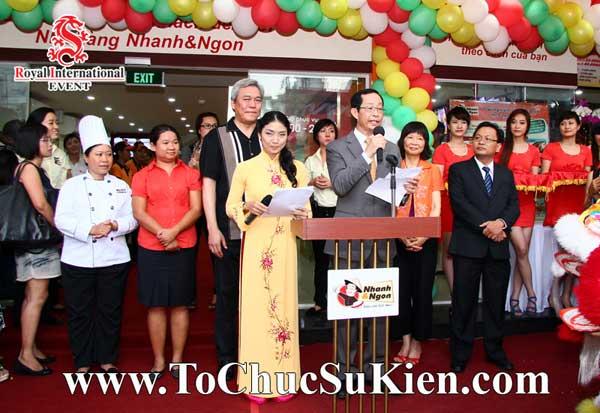 Tổ chức sự kiện khai trương nhà hàng Nhanh & Ngon - 11