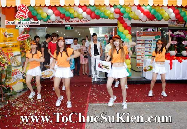 Tổ chức sự kiện khai trương nhà hàng Nhanh & Ngon - 13