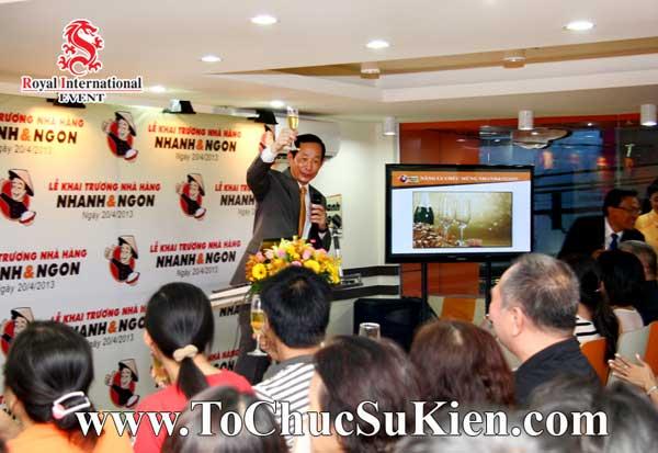 Tổ chức sự kiện khai trương nhà hàng Nhanh & Ngon - 21