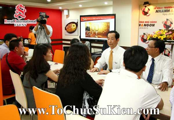 Tổ chức sự kiện khai trương nhà hàng Nhanh & Ngon - 27