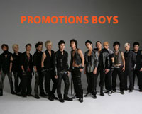 Dịch vụ PB - Promotion Boys Phục vụ Tổ chức sự kiện
