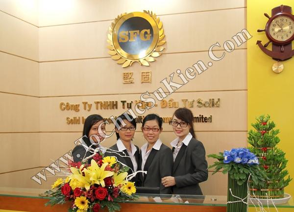 Tổ chức sự kiện Lễ khai trương Công ty TNHH Tư Vấn Đầu Tư SOLID - 01