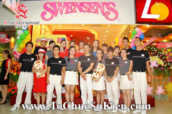 Tổ chức sự kiện Lễ khai trương Nhà hàng Swensen's thứ 6 tại BigC Hoàng Văn Thụ Tp.HCM - 01