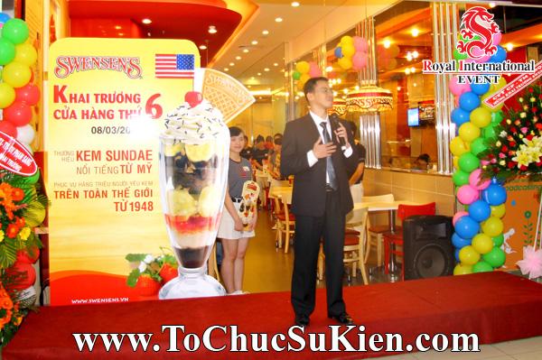 Tổ chức sự kiện Lễ khai trương Nhà hàng Swensen's thứ 6 tại BigC Hoàng Văn Thụ Tp.HCM - 04