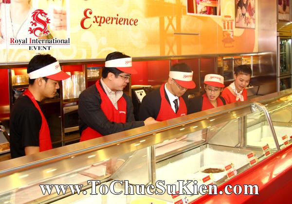Tổ chức sự kiện Lễ khai trương Nhà hàng Swensen's thứ 6 tại BigC Hoàng Văn Thụ Tp.HCM - 09