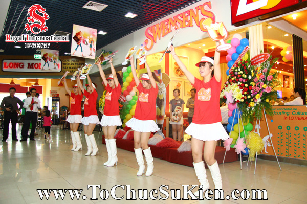 Tổ chức sự kiện Lễ khai trương Nhà hàng Swensen's thứ 6 tại BigC Hoàng Văn Thụ Tp.HCM - 11
