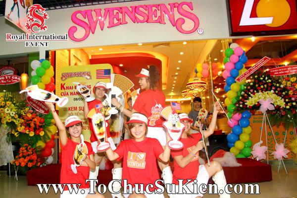 Tổ chức sự kiện Lễ khai trương Nhà hàng Swensen's thứ 6 tại BigC Hoàng Văn Thụ Tp.HCM - 12