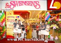 Tổ chức sự kiện Lễ khai trương Nhà hàng Swensen's thứ 6 tại BigC Hoàng Văn Thụ Tp.HCM