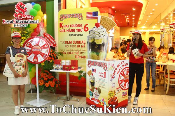 Tổ chức sự kiện Gamshow - Hoạt náo tại nhà hàng Kem Swensen - BigC Hoàng Văn Thụ - 01