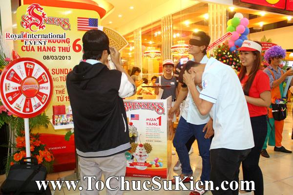 Tổ chức sự kiện Gamshow - Hoạt náo tại nhà hàng Kem Swensen - BigC Hoàng Văn Thụ - 02