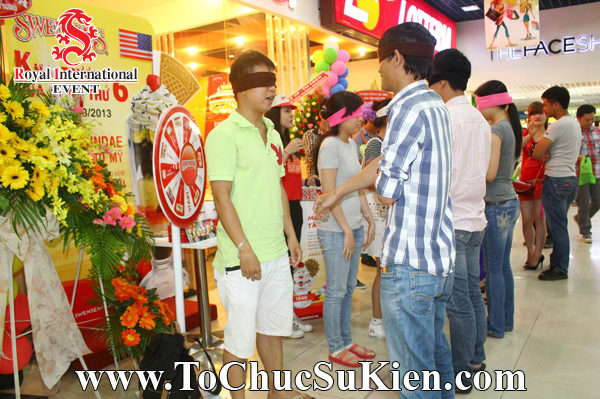 Tổ chức sự kiện Gamshow - Hoạt náo tại nhà hàng Kem Swensen - BigC Hoàng Văn Thụ - 03