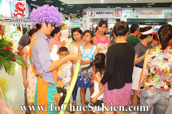 Tổ chức sự kiện Gamshow - Hoạt náo tại nhà hàng Kem Swensen - BigC Hoàng Văn Thụ - 04