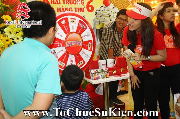Tổ chức sự kiện Gamshow - Hoạt náo tại nhà hàng Kem Swensen - BigC Hoàng Văn Thụ - 07