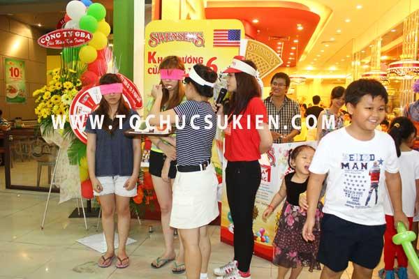 Tổ chức sự kiện Gamshow - Hoạt náo tại nhà hàng Kem Swensen - BigC Hoàng Văn Thụ - 09
