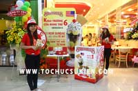 Tổ chức sự kiện Gamshow - Hoạt náo tại nhà hàng Kem Swensen - BigC Hoàng Văn Thụ