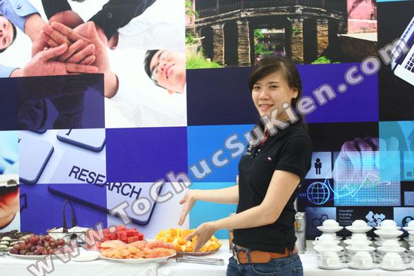 Tổ chức - Cung cấp Tiệc Teabreak - Khai trương VP Công ty FTA - 01