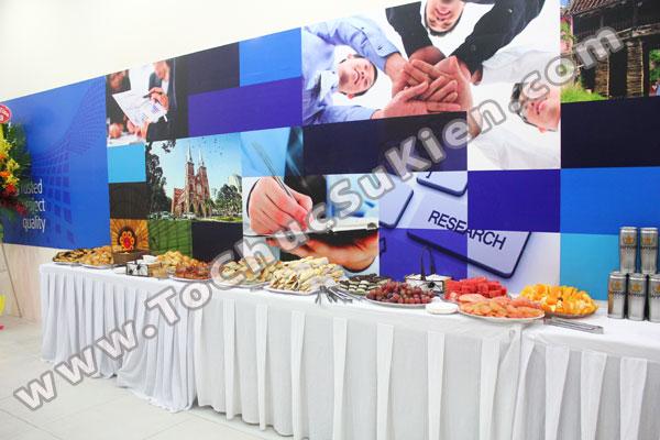 Tổ chức - Cung cấp Tiệc Teabreak - Khai trương VP Công ty FTA - 02