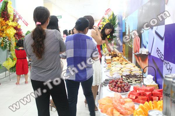 Tổ chức - Cung cấp Tiệc Teabreak - Khai trương VP Công ty FTA - 04