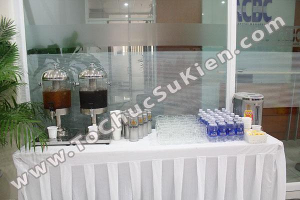 Tổ chức - Cung cấp Tiệc Teabreak - Khai trương VP Công ty FTA - 05