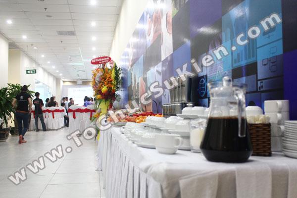 Tổ chức - Cung cấp Tiệc Teabreak - Khai trương VP Công ty FTA - 07