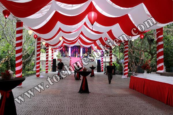 Cung cấp thiết bị - nhân sự tổ chức Gala Dinner tại Thảo Cầm Viên Tp.HCM - 02