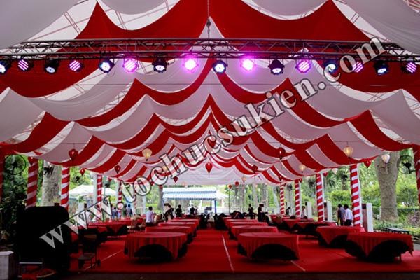 Cung cấp thiết bị - nhân sự tổ chức Gala Dinner tại Thảo Cầm Viên Tp.HCM - 03
