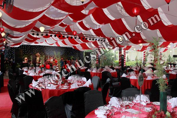 Cung cấp thiết bị - nhân sự tổ chức Gala Dinner tại Thảo Cầm Viên Tp.HCM - 04