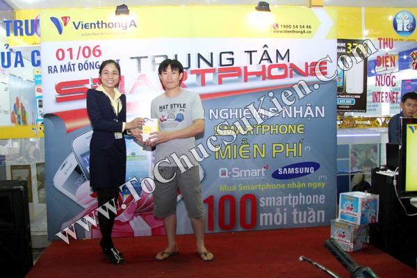 Tổ chức chuỗi sự kiện Ra mắt đồng loạt các Trung tâm Smartphone của Hệ thống cửa hàng Viễn Thông A - 04