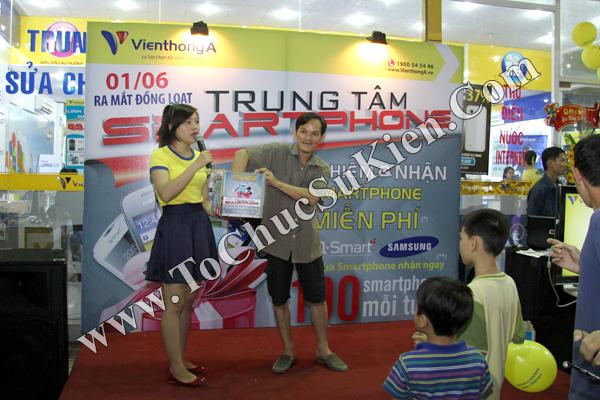 Tổ chức chuỗi sự kiện Ra mắt đồng loạt các Trung tâm Smartphone của Hệ thống cửa hàng Viễn Thông A - 05