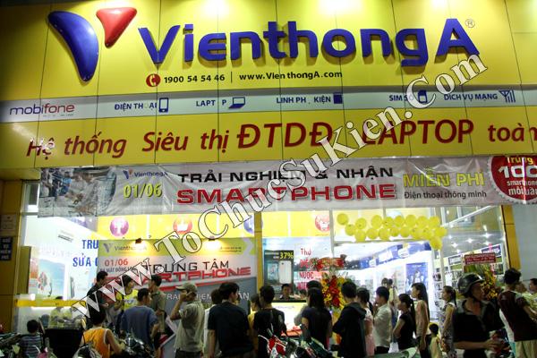 Tổ chức chuỗi sự kiện Ra mắt đồng loạt các Trung tâm Smartphone của Hệ thống cửa hàng Viễn Thông A - 06