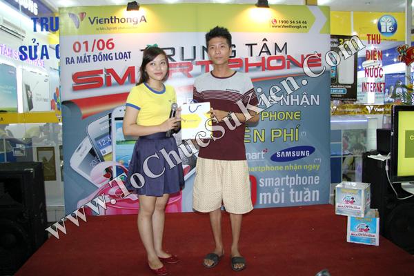 Tổ chức chuỗi sự kiện Ra mắt đồng loạt các Trung tâm Smartphone của Hệ thống cửa hàng Viễn Thông A - 08