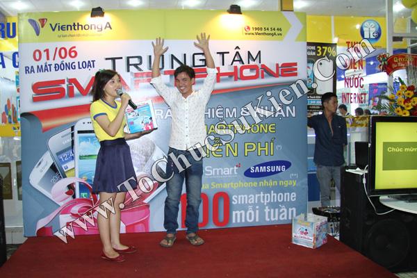 Tổ chức chuỗi sự kiện Ra mắt đồng loạt các Trung tâm Smartphone của Hệ thống cửa hàng Viễn Thông A - 09