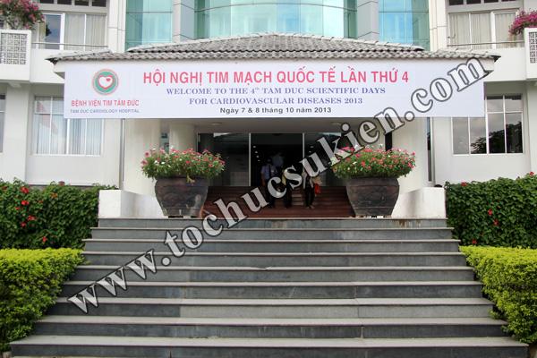 Tổ chức Hội nghị Tim mạch Quốc tế lần thứ 4 - Bệnh viện Tim Tâm Đức - 01