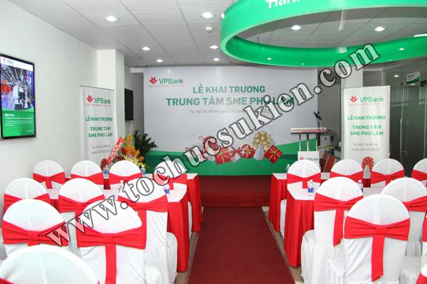 Tổ chức sự kiện khai trương trung tâm SME Phú Lâm - Ngân hàng VPBank - 02
