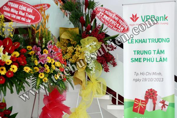 Tổ chức sự kiện khai trương trung tâm SME Phú Lâm - Ngân hàng VPBank - 03