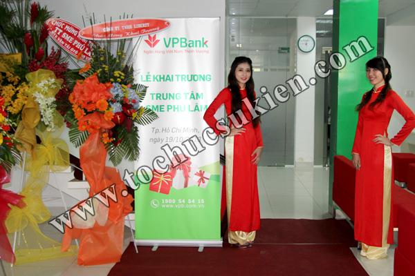 Tổ chức sự kiện khai trương trung tâm SME Phú Lâm - Ngân hàng VPBank - 04