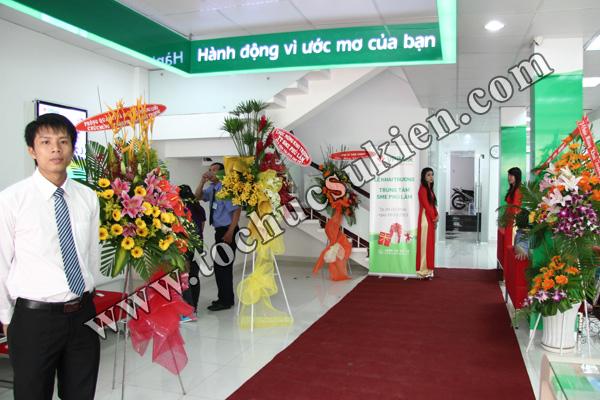 Tổ chức sự kiện khai trương trung tâm SME Phú Lâm - Ngân hàng VPBank - 05